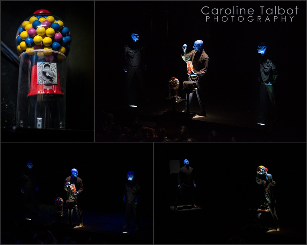 Brian Tavener, Mike Brown, Greg Balla, Blue man Group Boston, Paintballs and Marshmallows