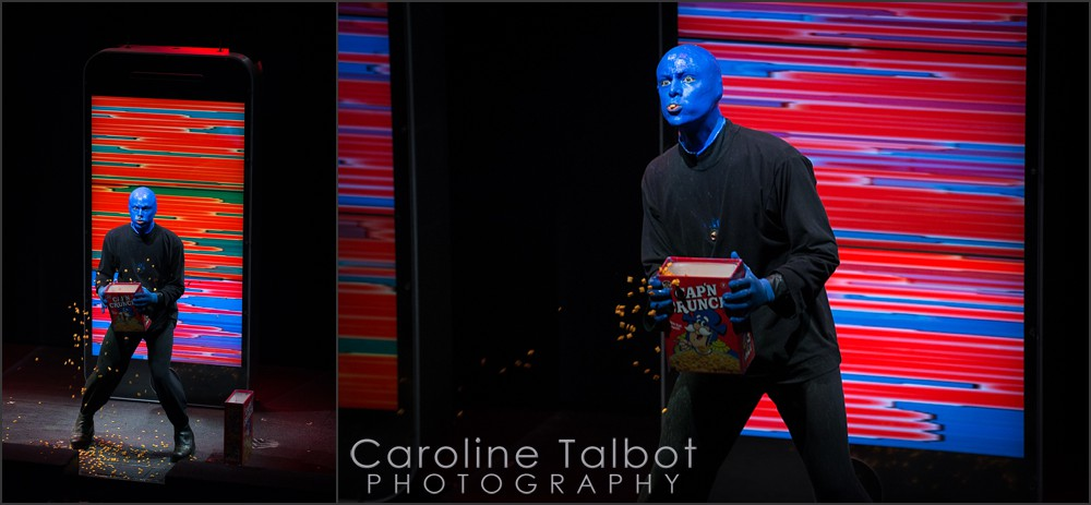 Greg Balla, Blue Man Group Boston Captain Crunch