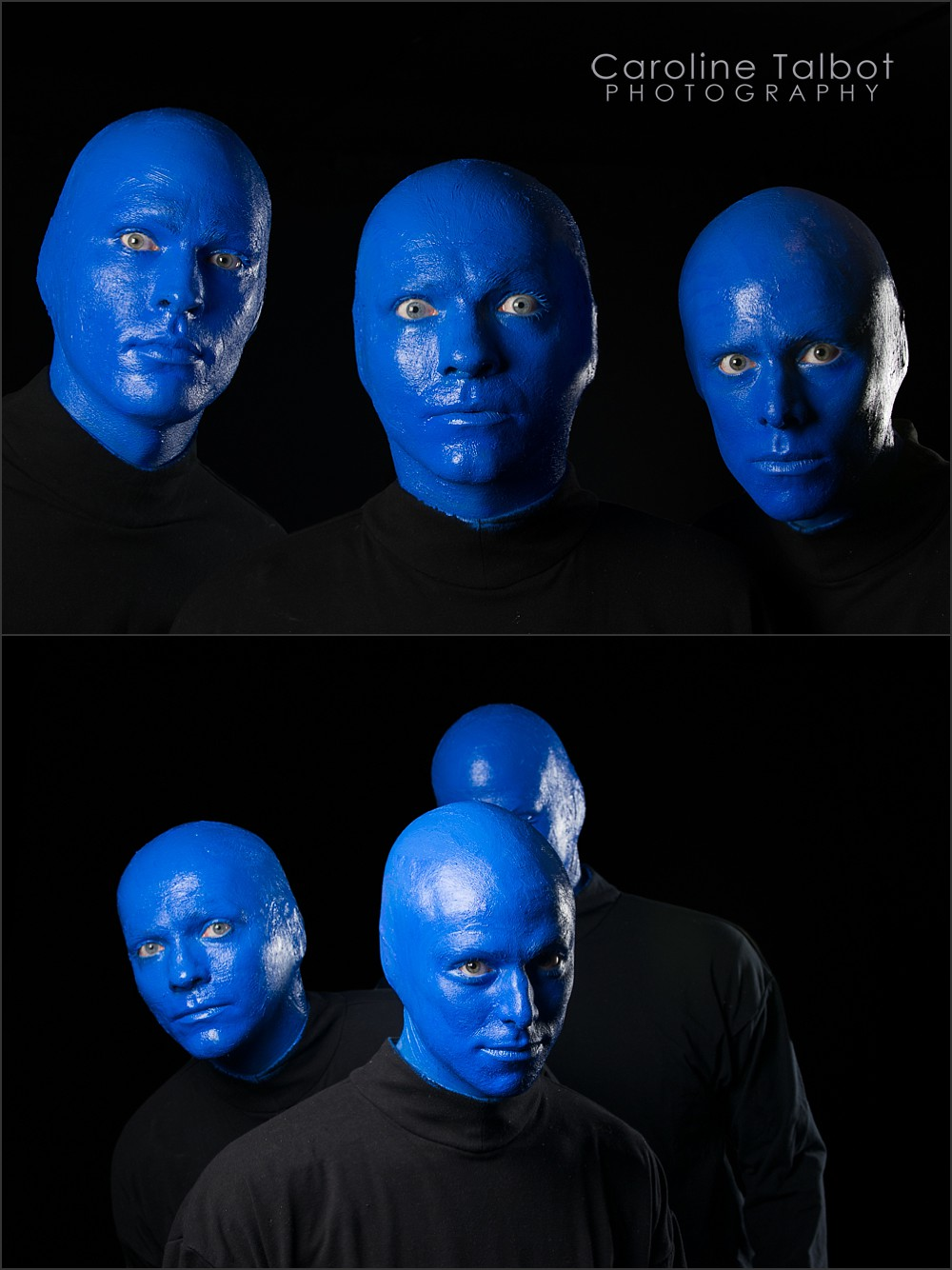 Behind the scenes at Blue Man Group in Boston, Greg Balla, Brian Tavener, Mike Brown