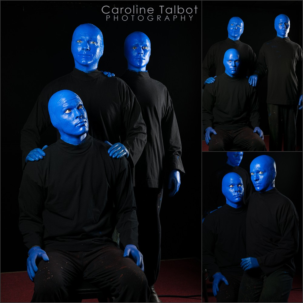 Blue Man Group Family Portrait